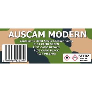 SMS SET02 Auscam Modern Colour Set Brand New