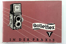 Original Rolleiflex T Type 1 Instruction Manual in German - 36 pages,  June 1964