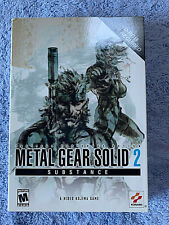 PC Metal Gear Solid 2 Substance (Sons of Liberty Expansion) Hideo Kojima New