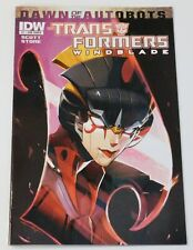 The Transformers: Windblade #1 Sub Cover (IDW, 2014) Dawn of the Autobots
