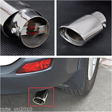 Sport Chrome Car Exhaust Pipe Trim Tips Muffler Pipe Trim for straight exhaust