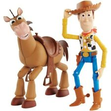 Disney Pixar Toy Story 4 Woody & Bullseye 2 Pack Figures - Brand New