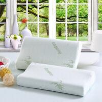 Soft Health Memory Foam Bamboo Fiber Pillow Latex Neck Pillows Slow Rebound
