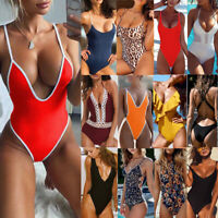 Women One-piece Bikini Swimsuit Swimwear Push Up Monokini Beachwear Bathing Suit