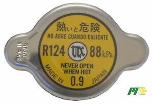 Japan Futaba Radiator Cap R124, Interchangeable with 56090