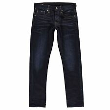 G-Star Raw Mens Dark Blue Tapered Jeans From Debenhams 14r 8269892 32r