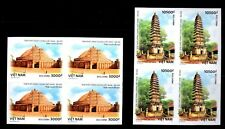 N.1087-Vietnam-Block 4- IMPERF- Vietnam-India joint stamp issue set 2 2018