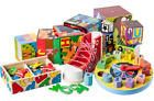 Melissa & Doug Wooden Baby & Toddler Toys Lacers Puzzles Magnets Grasping Toy