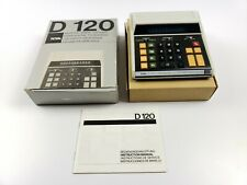 Royal D-120 Vintage Calculator Tested With Box And Manual