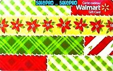 WALMART CHRISTMAS WRAPPING COLORFUL PAPERS XMAS #VL22524 COLLECTIBLE GIFT CARD