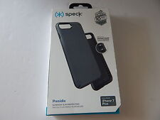 Speck Products Presidio Case for iPhone 7 Plus Graphite Grey/Charcoal Grey New