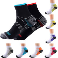 S-XL Men Women Compression Socks Plantar Fasciitis Arch Ankle Running Support