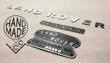 Scale Metal Land Rover Emblem Set for RC4WD Gelande II Defender D90 / D110