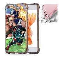 For iPhone X 6 7 8 8Plus Phone Case Cover My Hero Academia Anime #8775