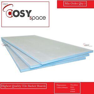 Tile Backer Board Insulation Boards Cement Coated Underfloor Heating Waterproof