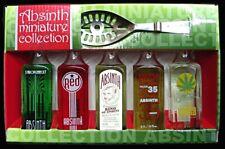 Absinth Lo`r Miniatur Collection - 5 x Miniflaschen + Löffel