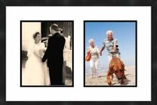 8X10 Collage Wall Picture Frame 2 Openings With Matting Frame Frames By Mail