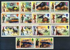 Barbuda 1974 Mi. 157-170 Nuovo ** 100% Soprastampato UPU
