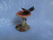 BORDER FINE ARTS SCOTLAND RARE RED ADMIRAL BUTTERFLY HAND MADE FIGURINE 1978