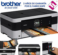 IMPRESORA MULTIFUNCION A3 BROTHER MFC J4420DW DUPLEX AIRPRINT TINTAS X MENOS 2€
