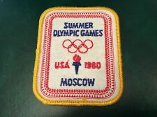 ICOLLECTZONE USA Olympic 1980 Moscow Games Patch (A500)