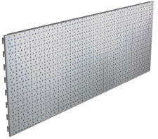 Shop shelving Perforated Back Panels Jura