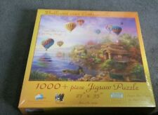 """New Puzzle 1000 piece Balloons Over 27x35"""" Nicky Boehme"""