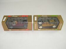 (2) VINTAGE BRUMM HENRY FORD 999 MODELS SERIE ORO ~ 1/43 SCALE ~ NEW IN BOX NIB