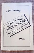 Millers Falls Co. Hardware manufacturers catalogue reprint of 1887