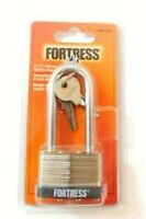 """Fortress by Master Lock Keyed Padlock Extended Shackle 2-1/2"""" Height 1801DLJ"""