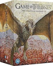 Game of Thrones Complete Season 1-6 DVD Region 2 NEW AND SEALED COMPLETE BOXSET
