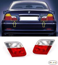 BMW 3 E46 (COUPE) 1999 - 2003 NEW REAR TAIL LIGHT LAMPS INNER PART LEFT + RIGHT