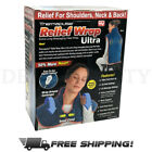 Thermapulse Pain Relief Wrap Ultra Extra-Long Massaging Heat & Cold Wrap