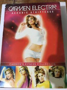 Carmen Electra's Aerobic Striptease 2003 Box Set Carmen's Fitness Collection