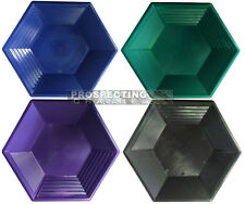 15 Inch HEX GOLD PAN Pick Your Color NEW