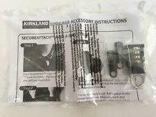 New Kirkland Luggage Accessories Set Strap Zipper Pull Tabs TSA Combination Lock