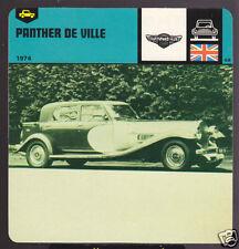 1974 PANTHER DE VILLE DEVILLE Car Picture 1978 CARD