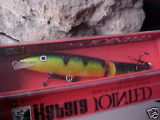 Rapala Jointed Minnow J13 P Color (PERCH) for Bass/Pike/Walleye/Musky/Pickerel