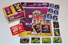PANINI EM EURO 2012 – 1 x Display + Set Hardcover Deluxe album + Nuovo + Italia
