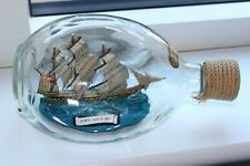 The HMS Victory Ship In A Bottle