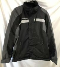 Zero Xposure Men's Winter Jacket Coat Size Small Black Gray Ski Snowboard