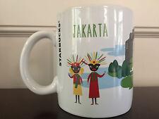 Starbucks Jakarta Indonesia Series Coffee Mug 16 fl oz - Brand New