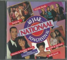 CD 40 jaar Nationaal Songfestival 16 entry's from The Netherlands in Eurovision