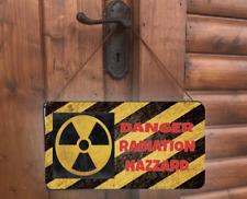 Radiation Symbol Danger Nuclear WASTE Hanging HAZARD Funny warning Gift Sign