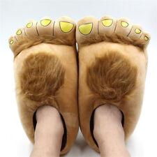 Plush Hobbit Hairy Feet Adventure Costume Play Furry Adventure Slippers