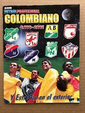 Futbol Profesional Colombiano 2000/2001 - Album INCOMPLETE