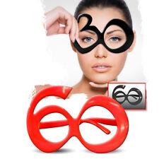 Gafas bromista para cumpleaños con número 60