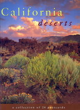 California Deserts: A collection of 24 postcards (1996)