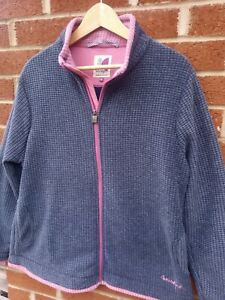 WEIRD FISH LADIES FLEECE LINED JACKET SIZE 18 XL GOOD CONDITION
