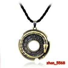 Assassin's Creed Alloy Necklace Connor Amulet Pendant Chain Cosplay Jewelry